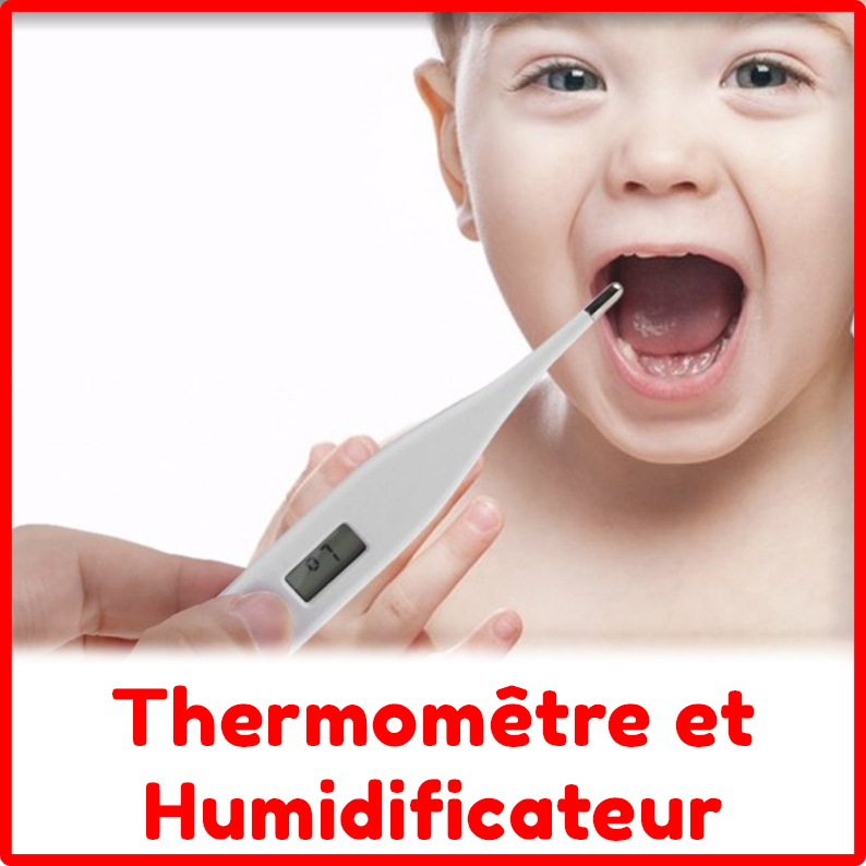 Thermomètre et humidificateur