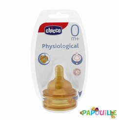 00081620000000 2 tétines physiologique latex chicco 0 m +
