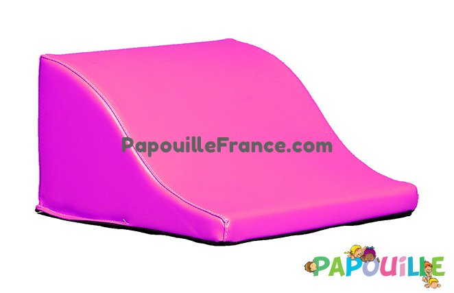 Module Demi Vague En Mousse PVC H.23cm Rose