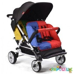 LIDOO 4 / M04S Poussette Quadruple Lidoo 4 places
