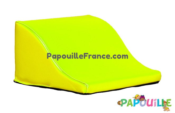 Module Demi Vague En Mousse PVC H.23cm Jaune