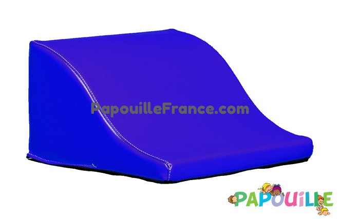 Module Demi Vague En Mousse PVC H.23cm Bleu