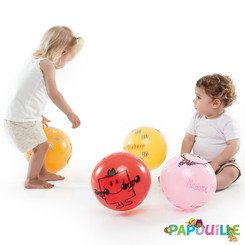 390402 LOT DE 4 BALLONS MR & MME