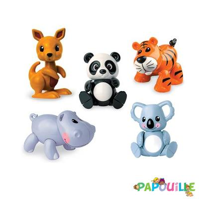 Jouets - Figurines - Figurines Articulées Animaux Sauvage ( tolo )