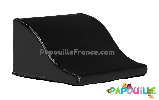 Module Demi Vague En Mousse PVC H.23cm Noir