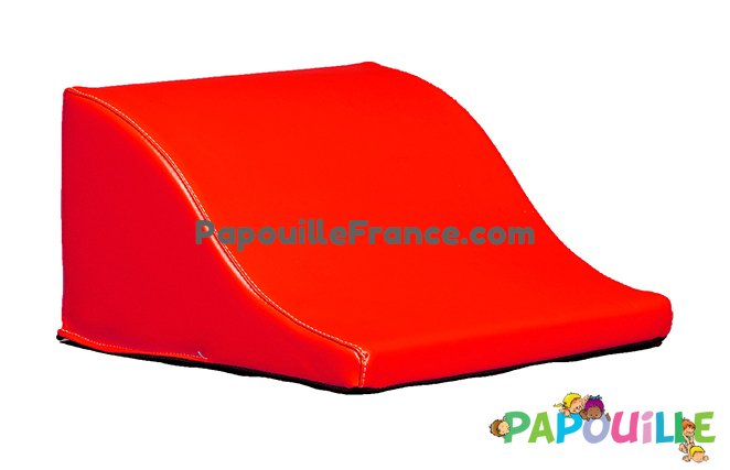 Module Demi Vague En Mousse PVC H.23cm Rouge