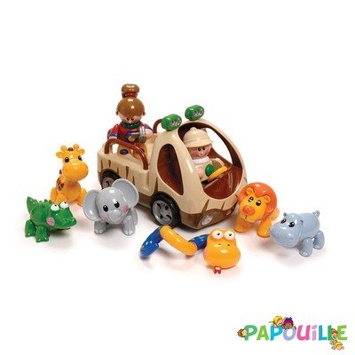 Jouets - Figurines - Figurines Articulées Friends Safari