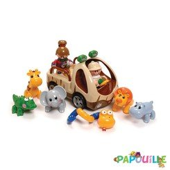 TL0042 Figurines Articulées Friends Safari