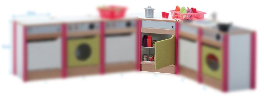 mobilier de creche cuisine jouet