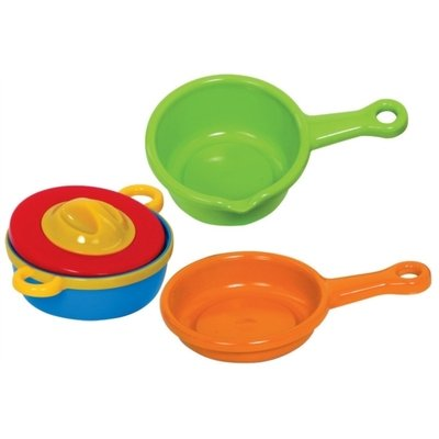 Jouets - Jouets d'Imitation et d'Imagination -  SET DE CASSEROLES