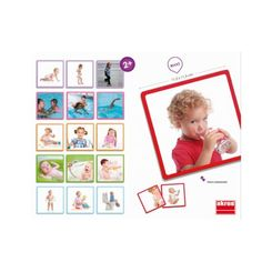 30640 CARTES L'EVOLUTION DE L'ENFANT