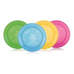 ID65670 SET DE 4 ASSIETTES NUBY