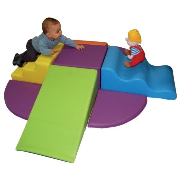 Kit De Modules Essentiel Tipas Avec Tapis Velcro En Mousse PVC