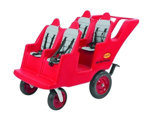 FB6300F Poussette Quadruple Bye Bye Buggy 4 places