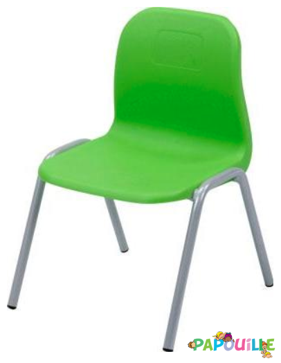 Chaise empilable Clara T1 Vert